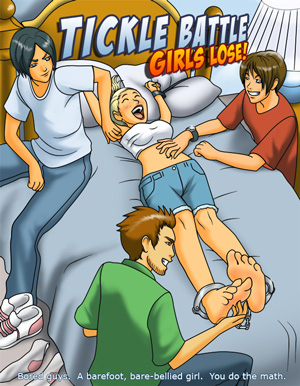 TICKLE BATTLE 1: Girls Lose! cover thumb