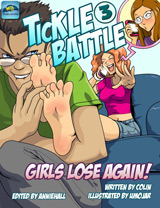 TICKLE BATTLE 3: Girls Lose Again! Cover Thumb